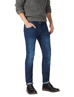 Wrangler Men's Bryson Skinny Fit Jeans Blue in Size 32W 32L