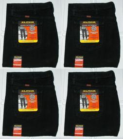 Rustler By Wrangler Men's Regular Fit Straight Leg Black Hea