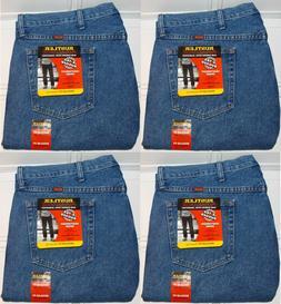 Rustler By Wrangler Mens Regular Fit Straight Leg Med Blue S