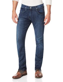 Hudson Jeans Men's Byron 5 Pocket Straight Leg Jean in Harri