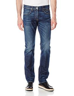 Hudson Jeans Men's Byron 5-Pocket Straight Zip Fly, Counter