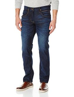 Hudson Jeans Men's Byron Five-Pocket Straight-Leg Jean, Barr