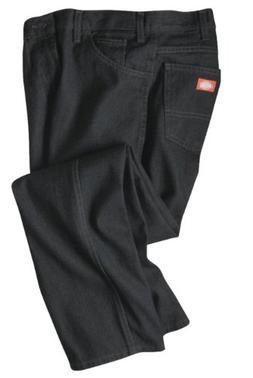 Dickies Occupational Workwear C993RBK 38x30 Denim Cotton Reg