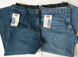 Wrangler Relaxed Fit Comfort Flex Waistband Jeans  Men's