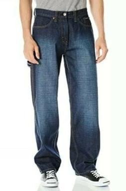 U.S. Polo Assn. Men's Carpenter Jean, Medium Wash, 30x32