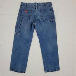 carpenter jeans mens 36 x 30 mid
