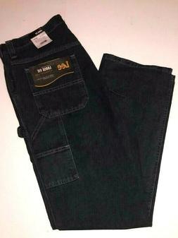 Lee Carpenter Jeans Straight Leg Mens Dungarees Quartz Dark