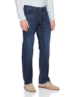 7 For All Mankind Men's Carsen Easy Straight-Leg Jean, Monte