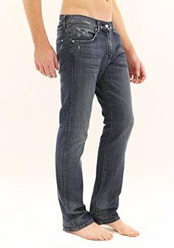 7 For All Mankind Men's Carsen Straight Leg Jean in Stoney C