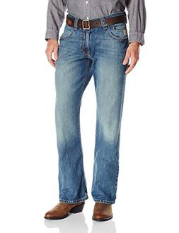 Cinch Men's Carter Relaxed Fit Jean, Medium Stone Wash, 30W