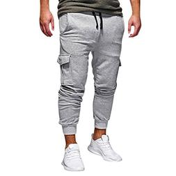 Men Pants Hot Sale Daoroka Men's Casual Comfort Long Elastic