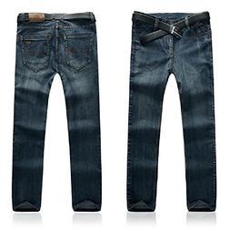 SITENG Men Casual Jeans Plus Size 34 36 38 40 42 44 46 48 50