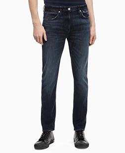 Calvin Klein Jeans Men's CKJ 026 Slim Fit, Boston Blue/Black