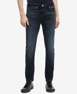 Calvin Klein Jeans Men's CKJ 026 Slim Fit, Boston Blue/Black
