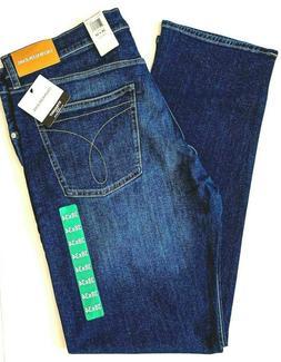Calvin Klein CKJ 035 Men's 34X32 Jeans Straight Fit Denim Pa