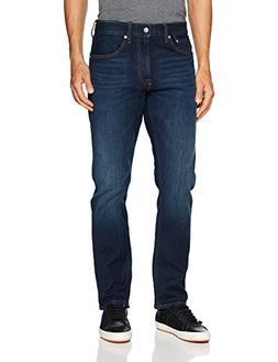 Calvin Klein Men's CKJ 035 Straight Fit Jeans, houston dark