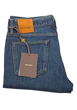 Tom Ford CL Blue Slim Fit Jeans TFD001 Size 48/32 U.S.