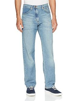 Wrangler Men's Classic Authentics Relaxed Fit Jean, Bleached