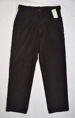 HAGGAR CLASSIC FIT JEANS COLOR BROWN MENS NEW MSRP $70.00