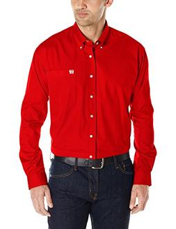 Cinch Men's Classic Fit Long Sleeve Button One Open Pocket S