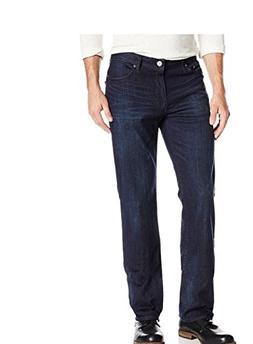 Calvin Klein Mens Classic Straight Leg Jeans, Osaka Blue, 40