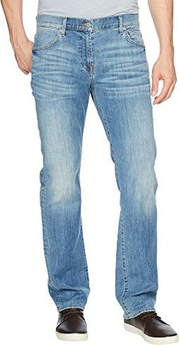 7 For All Mankind Men's Standard Classic Straight Leg Luxe P