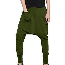POHOK Clearance Men's Sport Hip-hop Pencil Pants Pure Color