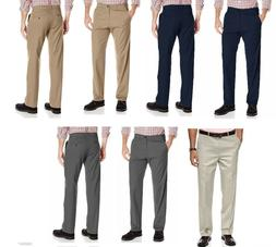 Haggar Clothing Men's Sustainable Stretch Chino Flat Front S