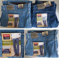 Wrangler Comfort Flex Waistband Regular Fit Jean - Men's Siz