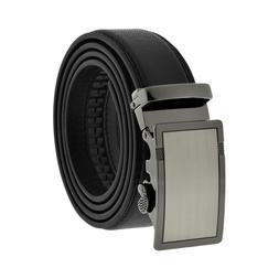 Comfort Slide Click Leather Automatic Belt Men/'s Buckle Lock Dress Jeans New