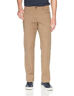 IZOD Men's Comfort Stretch Colored Jean, Vintage Khaki, 42x3