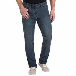 New IZOD Men's Comfort Stretch/Straight Jean. Size: 38-29. C