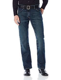 Wrangler Men's 20X Competition Slim Fit Jean, Root Beer, 33x
