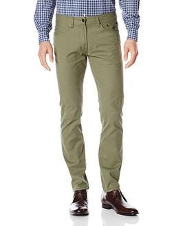 U.S. Polo Assn. Men's Corduroy Skinny Fit 5 Pocket Jean, Oli