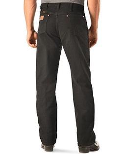 Wrangler Men's Cowboy Cut Original Fit Jean, Shadow Black, 4