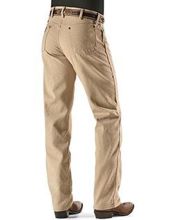 Wrangler Men's Cowboy Cut Original Fit Jean, Tan, 32W x 32L