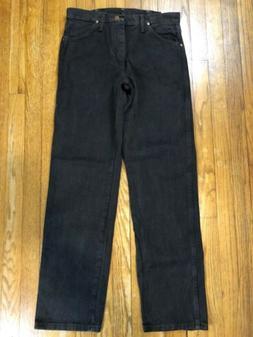 Wrangler Men's Cowboy Cut Original Fit Jean, Black Chocolate