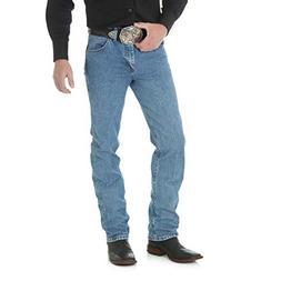 Wrangler Men's Premium Performance Cowboy Cut Jean,Stonewash