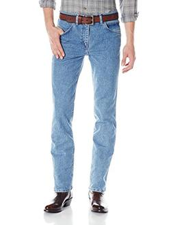 Wrangler Men's Premium Performance Cowboy Cut Jean, Stone Bl