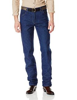 Wrangler Men's Premium Performance Cowboy Cut Jean, Navy, 35