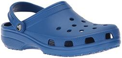 crocs Women's Classic Mule  Blue Jean - 11 US Men/ 13 US Wom