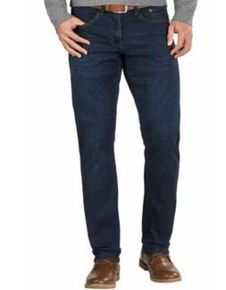 D103 IZOD Men's Comfort Stretch Slim Fit Straight Leg 5 Pock