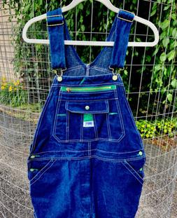 Liberty Dark BlueDenim Jeans Bib Overalls Utility Carpenter