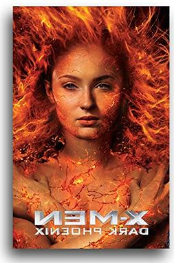 Dark Phoenix Poster - Movie Promo - X-Men Jean Grey 11 x 17