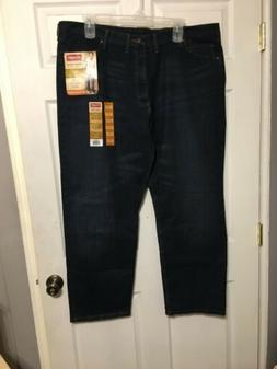 Wrangler Dark Wash Relaxed Fit Flex For Comfort Jeans Mens S