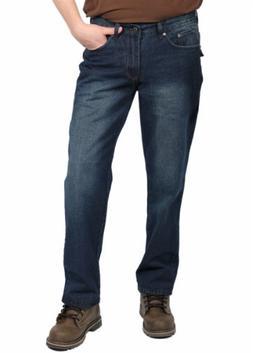 Indigo 30 Men's Fashion Denim Jeans, Dark Indigo, Size 34 X