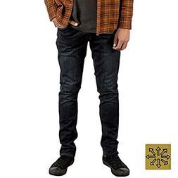 Volcom Men's 2X4 Denim Jeans Vintage Blue 29 & Cooling Towel
