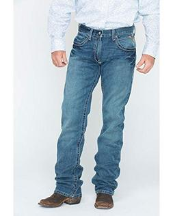 Ariat Men's Denim Jeans M5 Gulch Straight Leg Med Wash 36W x