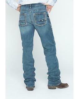 Ariat Denim Jeans - M5 Gulch Straight Leg - Big and Tall - 1