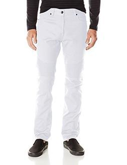 Southpole Men's Fashion Denim in Various Design , White, 36x
